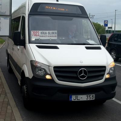 By minibus
