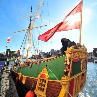 """Historical sailboat """"Lībava"""""""