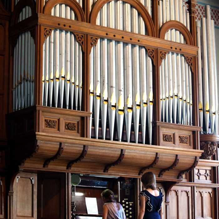 Private organ music concerts