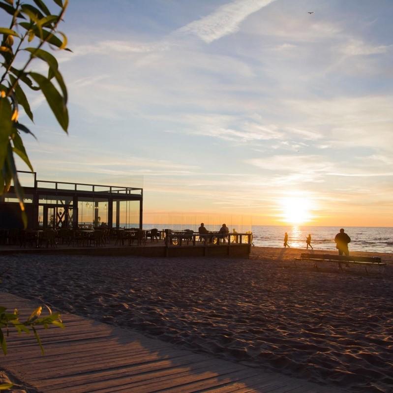 Beach cafes
