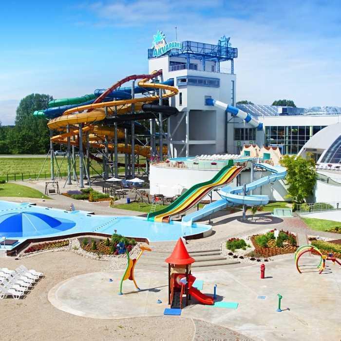 Līvu Akvaparks (water amusement park)