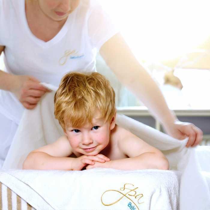 СПА процедуры для детей