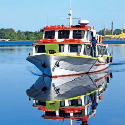 "Upės laivelis ""New Way"""