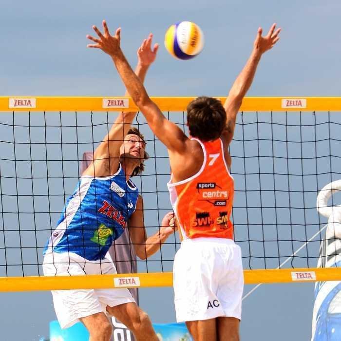 Спортивные игры на пляже