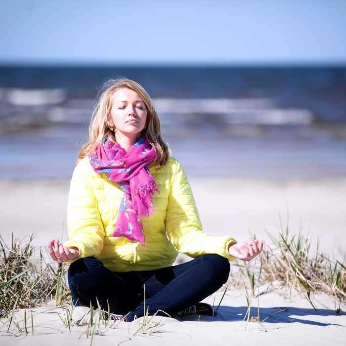 Jooga rannal