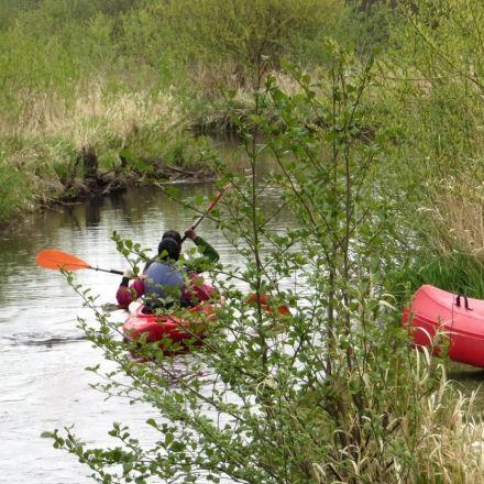 Водный поход по реке Вецслоцене