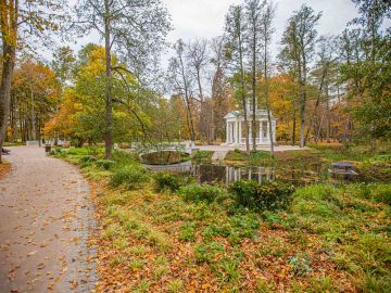 Visit  the restored Ķemeri Park and water tower
