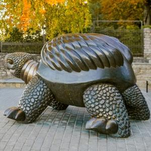 """Sculpture """"Bruņurupucis"""" (the Turtle)"""