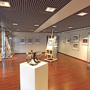 Jūrmala art school exhibition hall