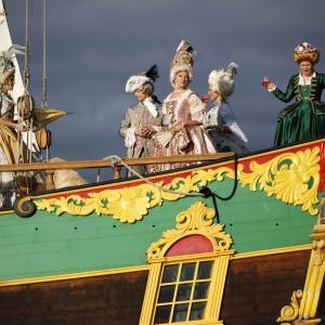 """Das historische Segelschiff """"Libava"""""""