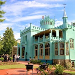 Дачный комплекс и  ботанический сад Кристапа Морберга