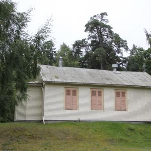 Den Heliga Familjens katolska kyrka i Sloka