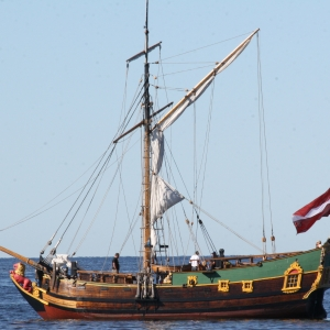 "Historical sailboat ""Lībava"""