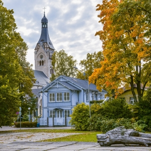 Den evangelisk lutherska kyrkan i Dubulti