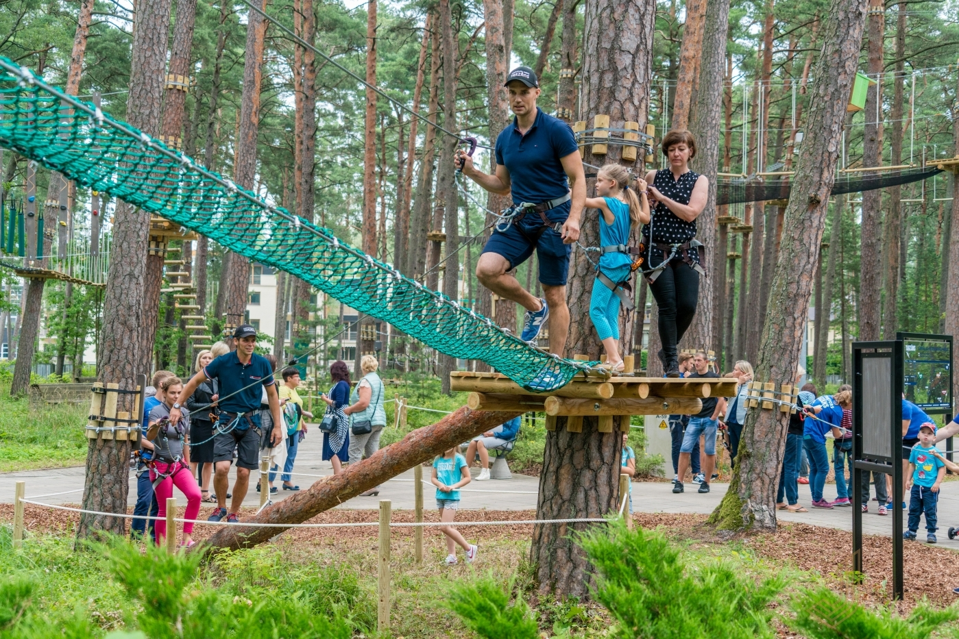 Adventure Park Quot Tarzāns Quot In Dzintari Forest Park Jūrmala