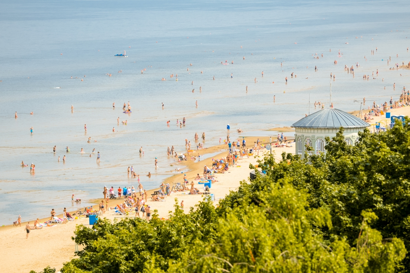 Comfortable beaches and a long tradition of nudism - Jūrmala