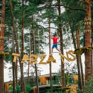 "Adventure park ""Tarzāns"" in Dzintari forest park"