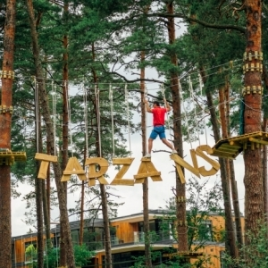 """Jūrmalas Tarzāns"" adventure park - now open in the Dzintari Forest Park"