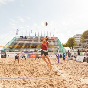 "The biggest Baltics' beach volleyball event - ""Jurmala Masters"""