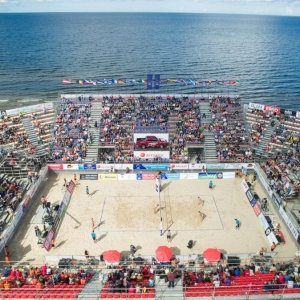 This year the Beach Volleyball European Championship Final will be held in Jurmala