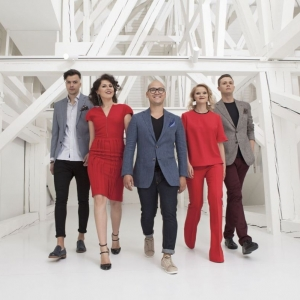 "Latvian vocal group ""Frames"" in Dzintari concert hall"
