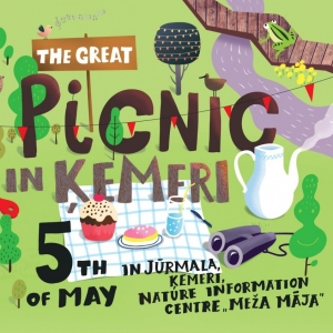 Celebrate spring at The Great picnic in Ķemeri