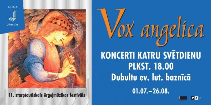 Starptautiskais ērģeļmūzikas festivāls Vox angelica