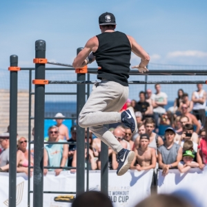The World Cup in street gymnastics will take place in Jūrmala