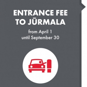 Entrance fee to Jūrmala. How much? Where?