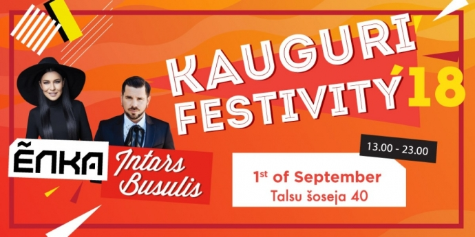 Jūrmala invites to the festival in Kauguri on 1st of September