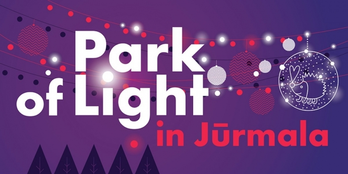 The Park of Light in Jūrmala