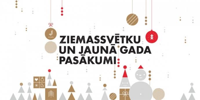 Ziemassvētku laiks un Jaunā gada sagaidīšana Jūrmalā