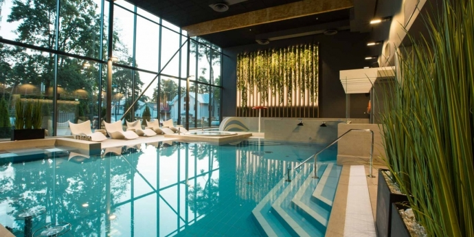 Top 5 swimming pools and water recreation places in Jūrmala